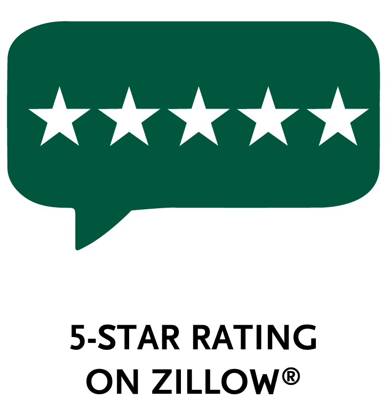 5-star rating on zillow